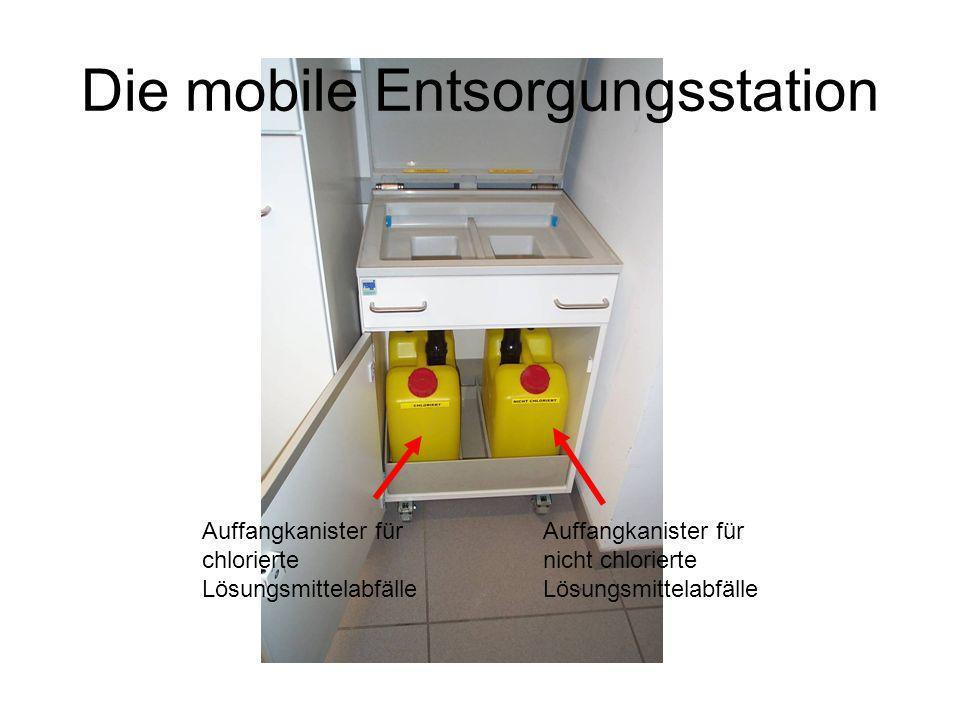 Die mobile Entsorgungsstation