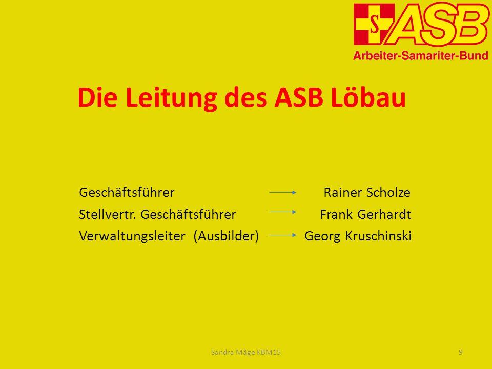 Die Leitung des ASB Löbau