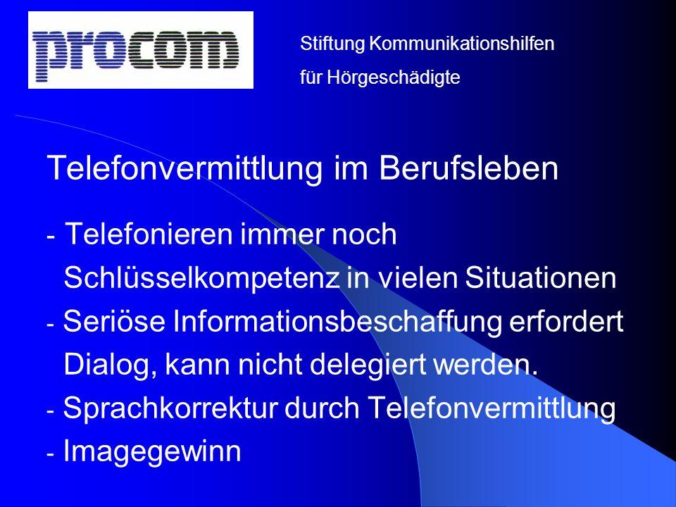 Telefonvermittlung im Berufsleben Telefonieren immer noch