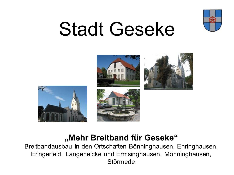 Eringerfeld, Langeneicke und Ermsinghausen, Mönninghausen,