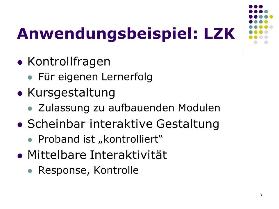 Anwendungsbeispiel: LZK