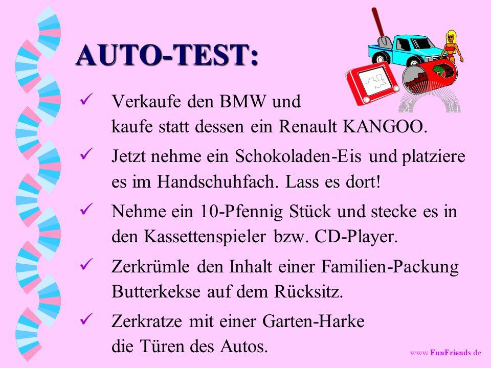 AUTO-TEST: Verkaufe den BMW und kaufe statt dessen ein Renault KANGOO.