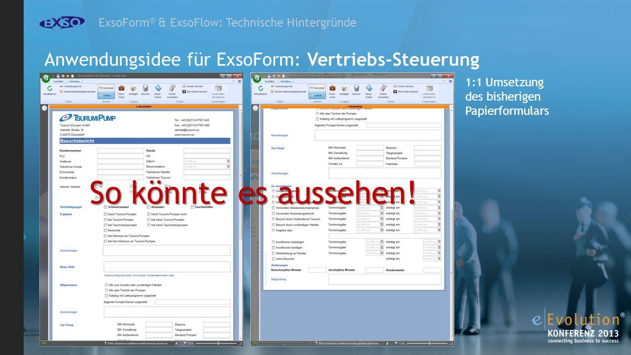 ExsoForm® & ExsoFlow: Technische Hintergründe