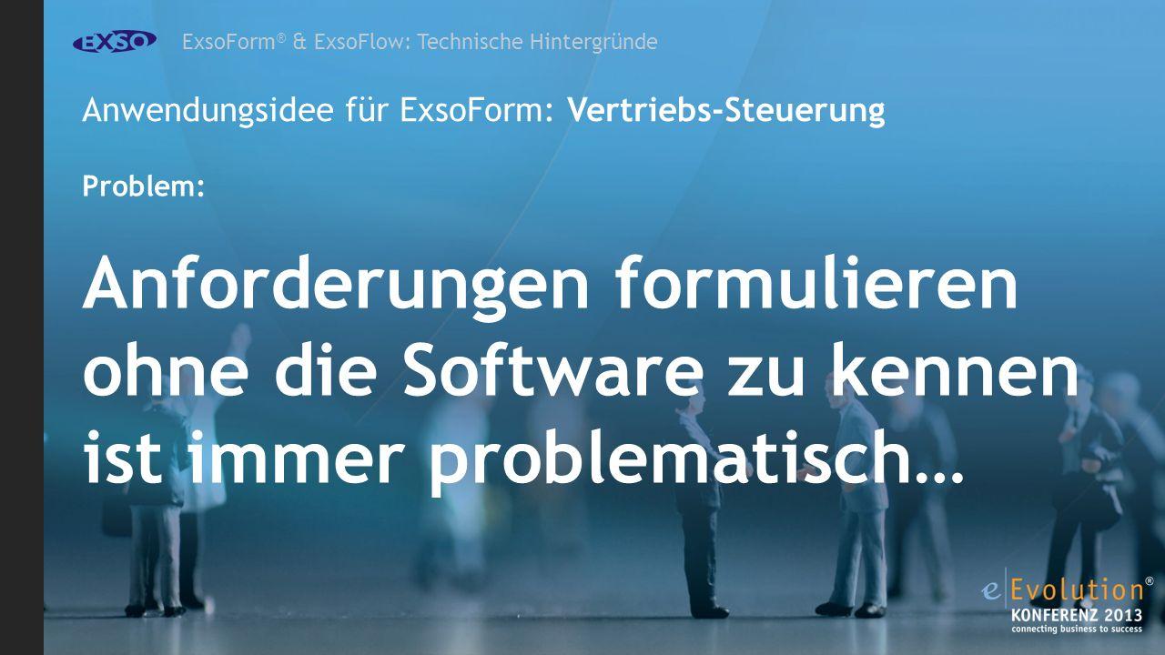 Anforderungen formulieren ohne die Software zu kennen