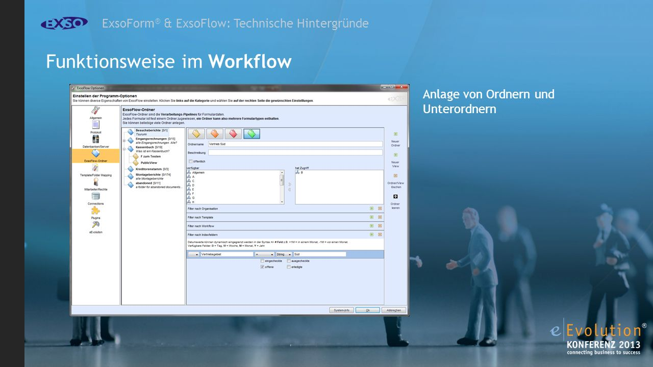Funktionsweise im Workflow