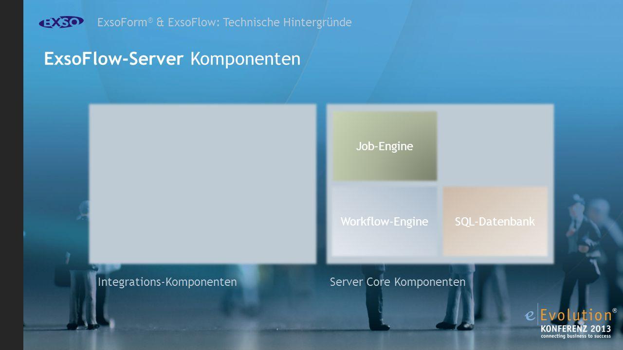 ExsoFlow-Server Komponenten