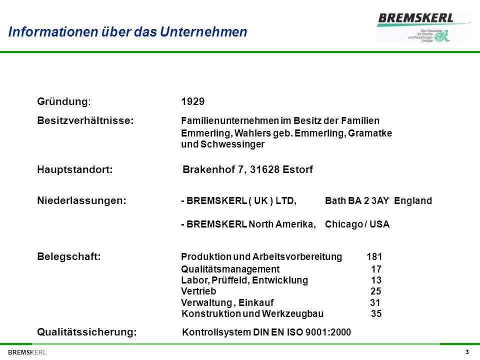 Informationen über das Unternehmen