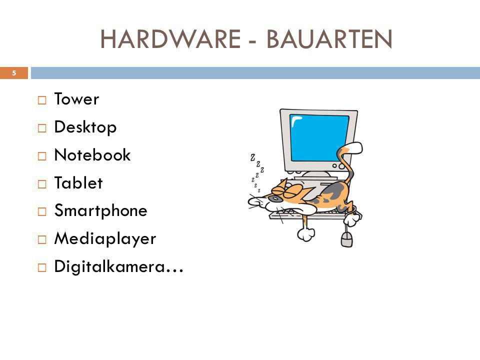 HARDWARE - BAUARTEN Tower Desktop Notebook Tablet Smartphone