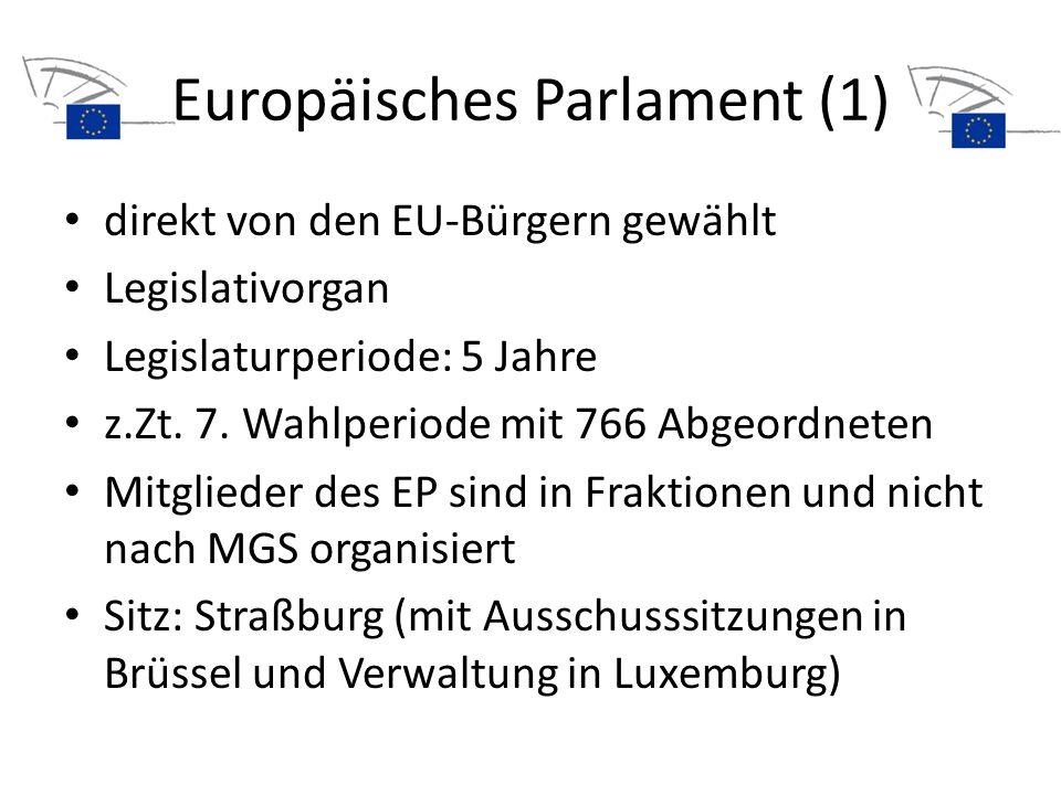 Europäisches Parlament (1)