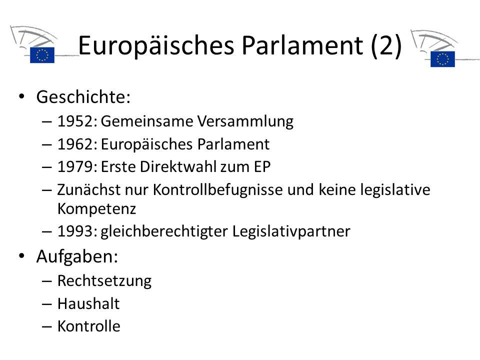 Europäisches Parlament (2)