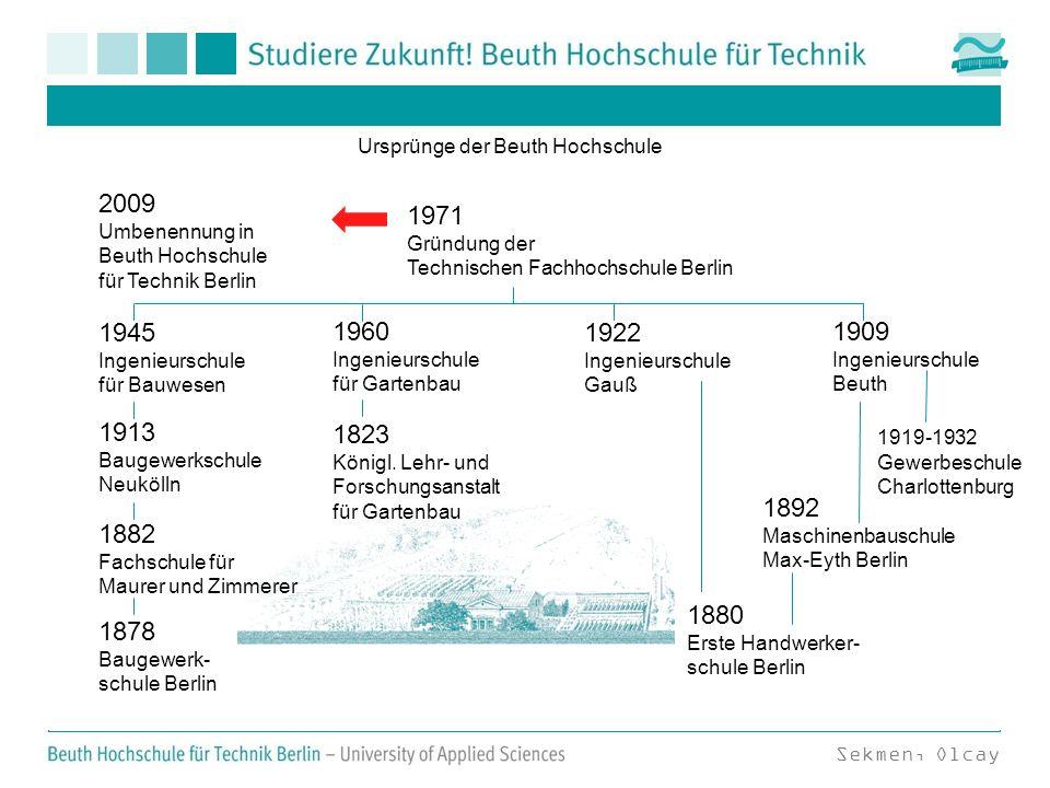 Ursprünge der Beuth Hochschule