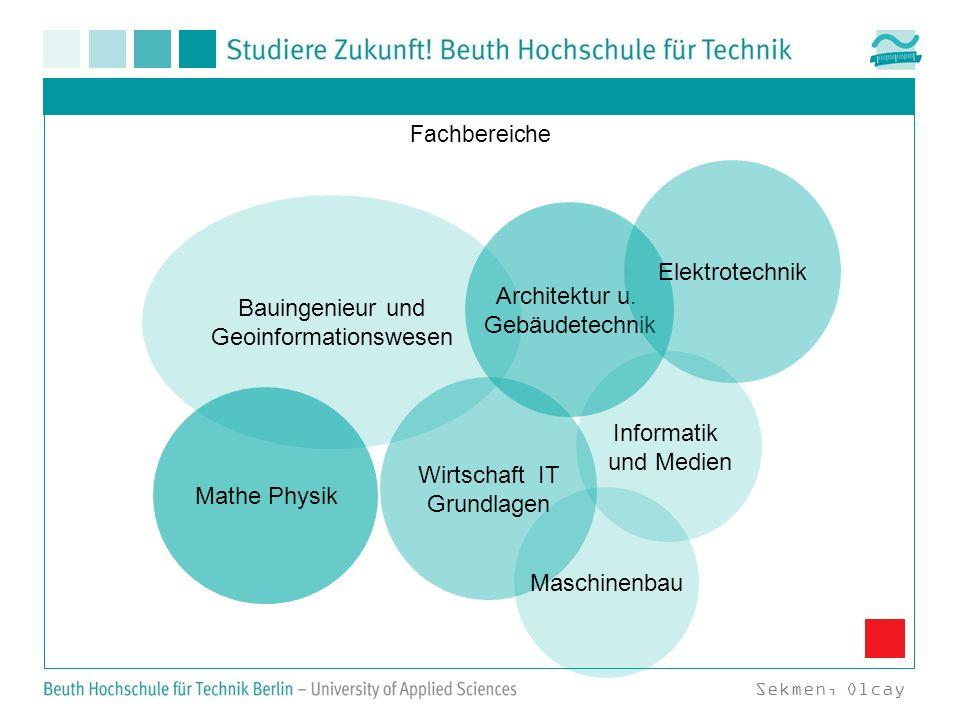 Bauingenieur und Geoinformationswesen Architektur u. Gebäudetechnik