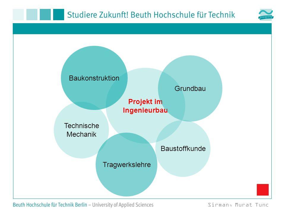 Projekt im Ingenieurbau