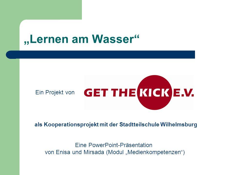 """""""Lernen am Wasser Ein Projekt von Eine PowerPoint-Präsentation"""