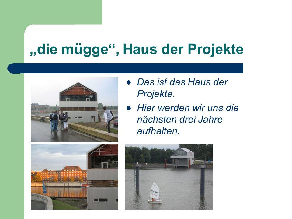 """""""die mügge , Haus der Projekte"""