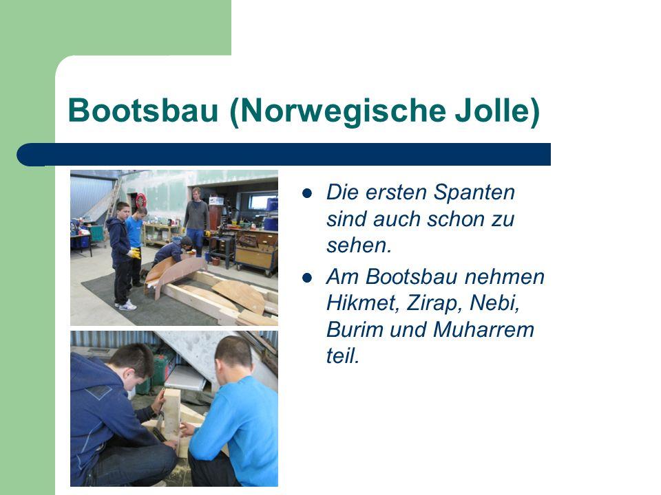 Bootsbau (Norwegische Jolle)