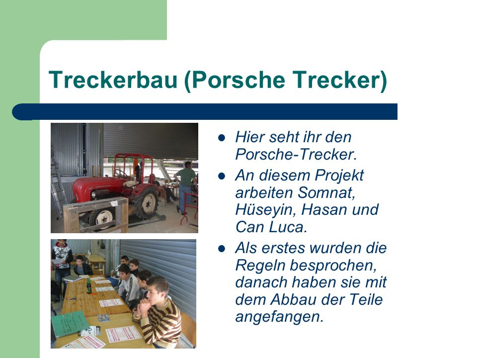 Treckerbau (Porsche Trecker)