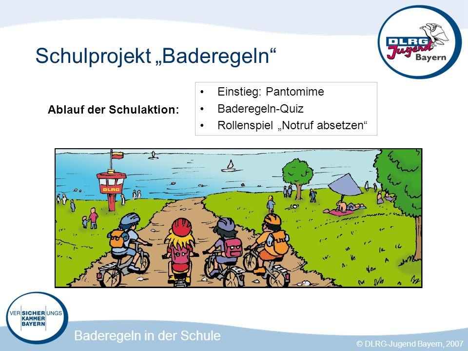 """Schulprojekt """"Baderegeln"""