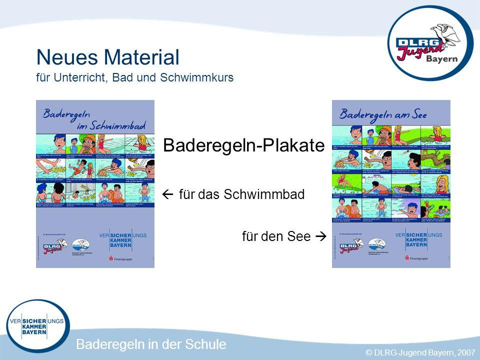 Neues Material für Unterricht, Bad und Schwimmkurs
