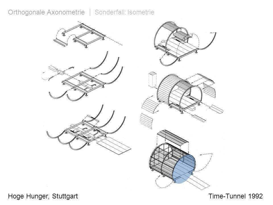 Orthogonale Axonometrie | Sonderfall: Isometrie