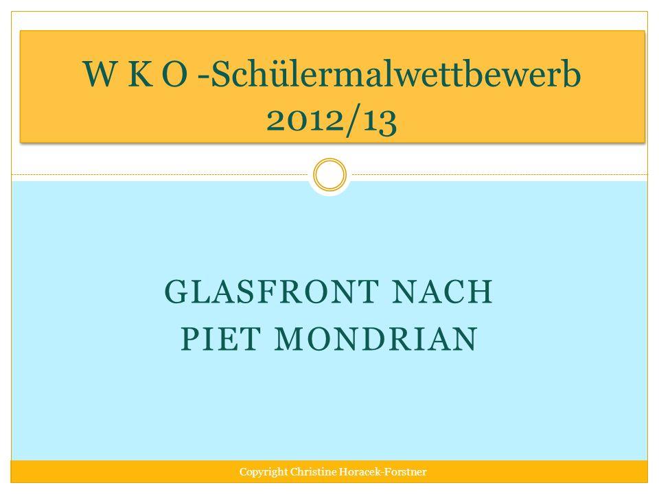W K O -Schülermalwettbewerb 2012/13