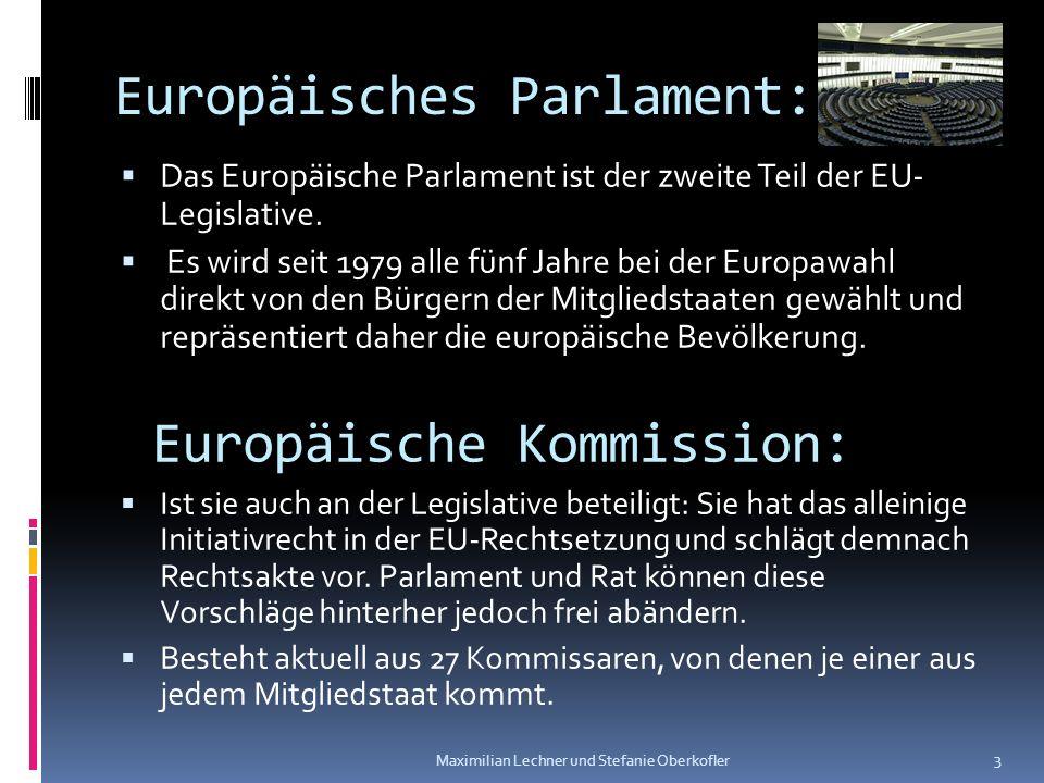 Europäisches Parlament: