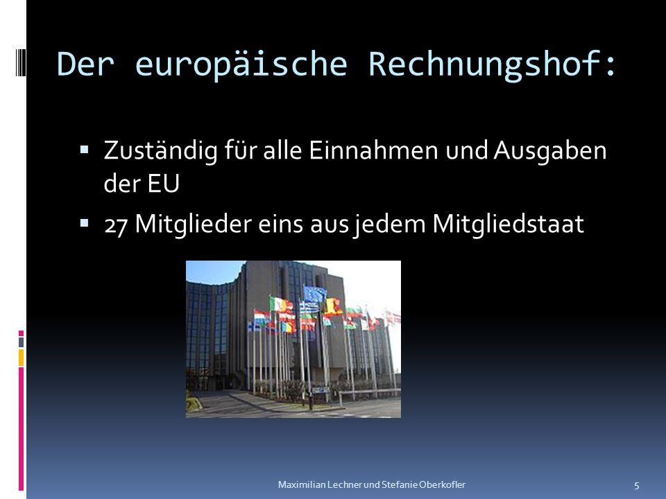 Der europäische Rechnungshof: