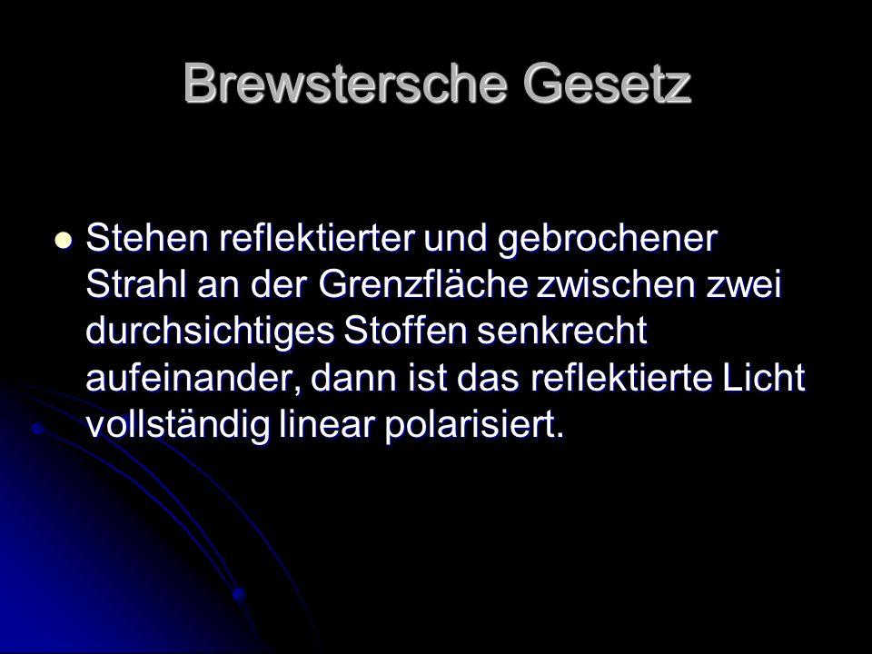 Brewstersche Gesetz