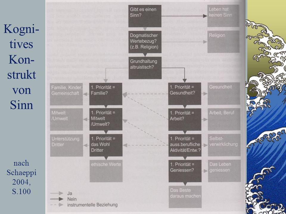 Kogni- tives Kon- strukt von Sinn nach Schaeppi 2004, S.100