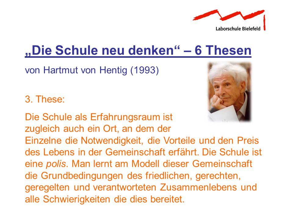 """""""Die Schule neu denken – 6 Thesen"""