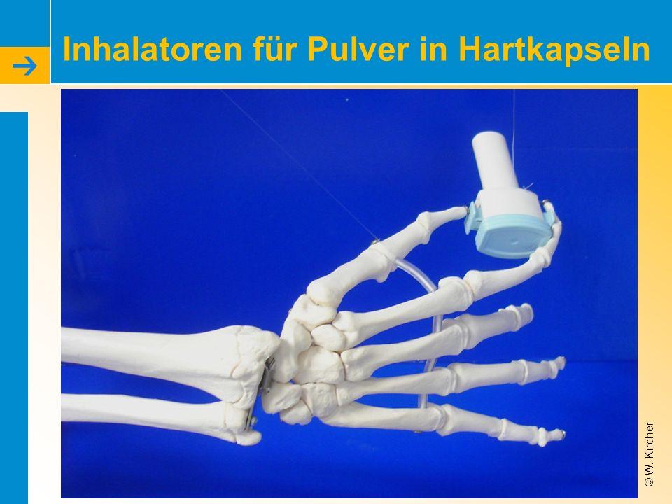 Inhalatoren für Pulver in Hartkapseln