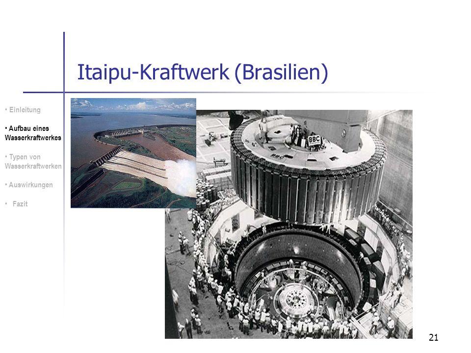 Itaipu-Kraftwerk (Brasilien)