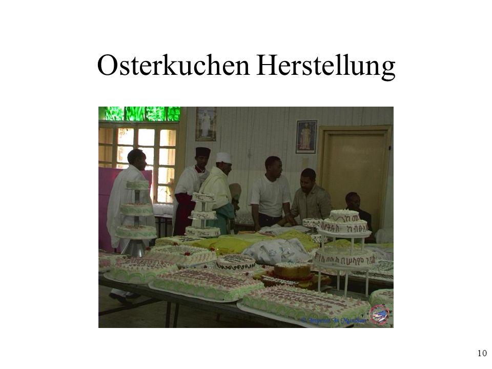 Osterkuchen Herstellung