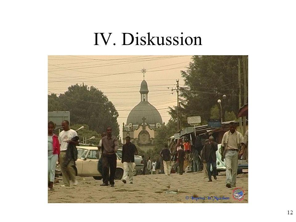 IV. Diskussion
