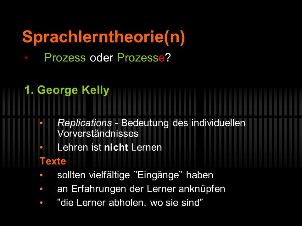 Sprachlerntheorie(n)