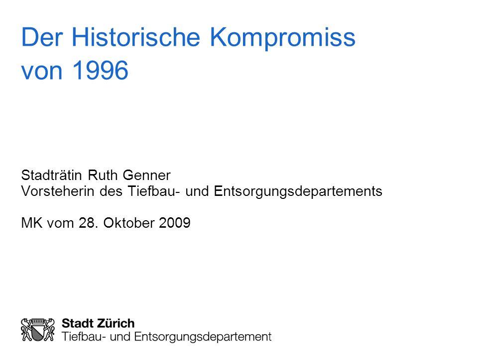 Der Historische Kompromiss von 1996