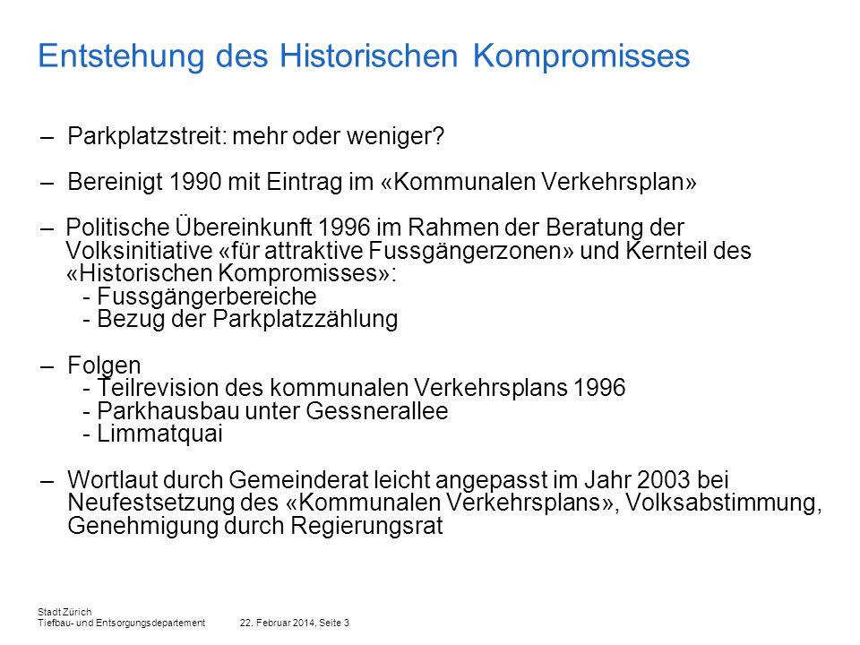 Entstehung des Historischen Kompromisses