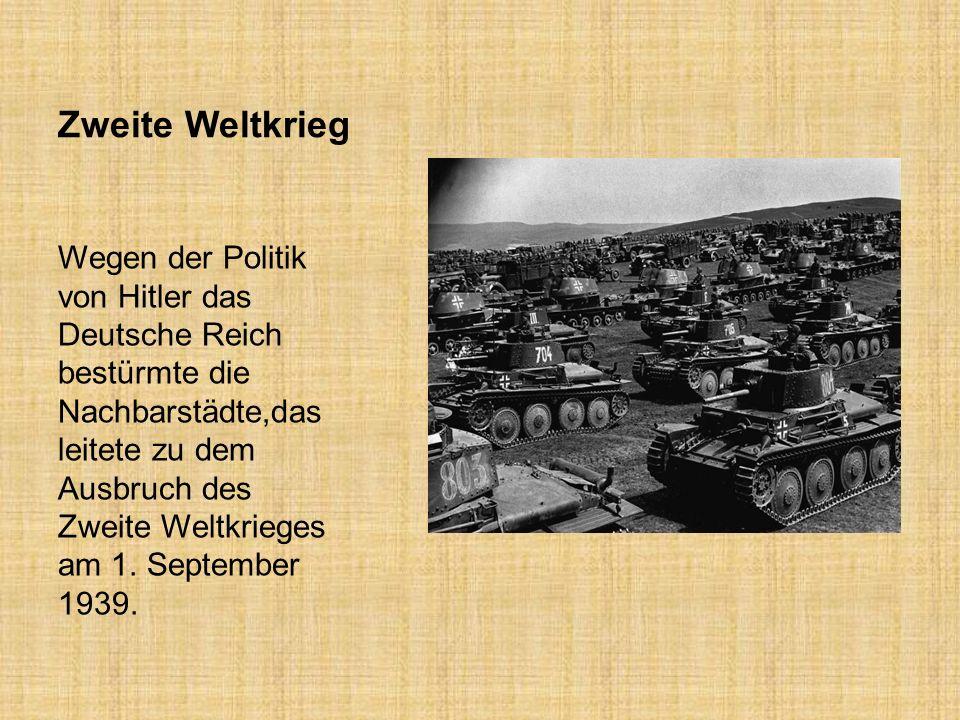Zweite Weltkrieg