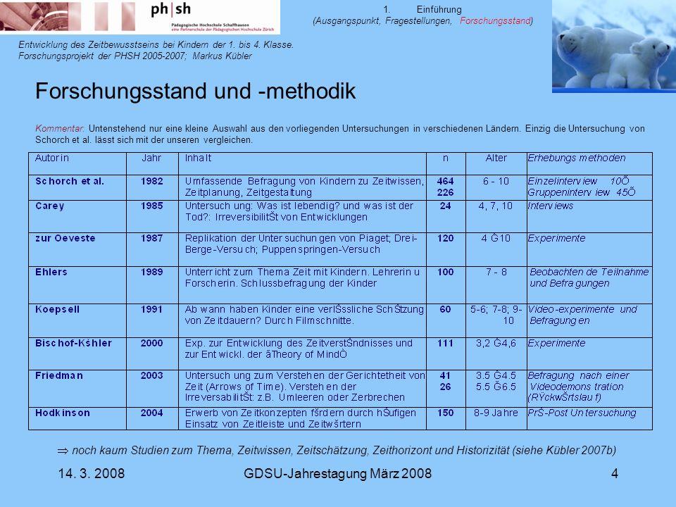 Forschungsstand und -methodik