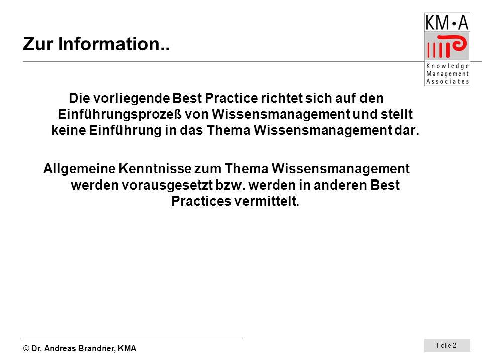 Zur Information..