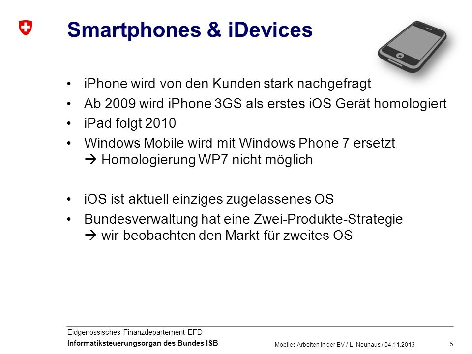 Smartphones & iDevices
