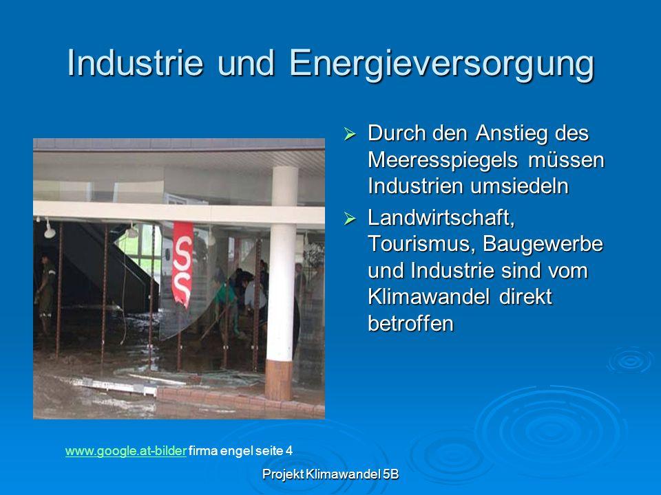Industrie und Energieversorgung