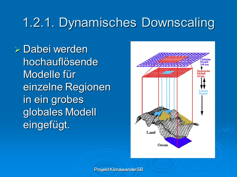 Dynamisches Downscaling