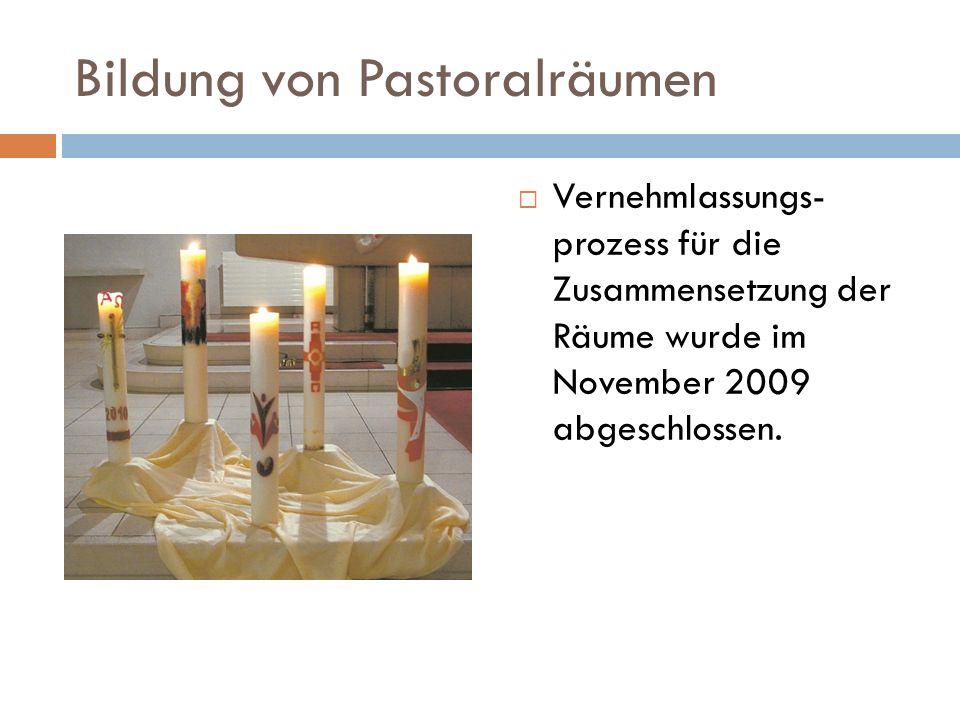 Bildung von Pastoralräumen