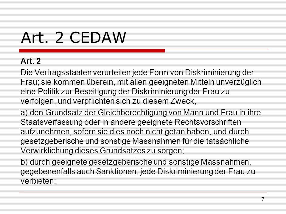 Art. 2 CEDAW