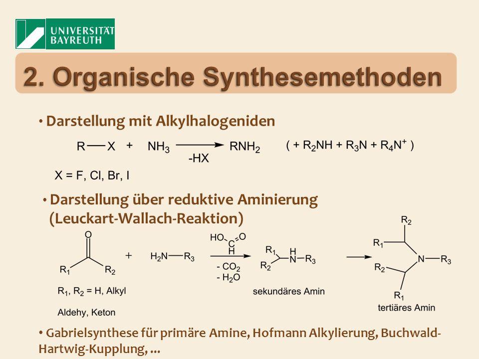 2. Organische Synthesemethoden
