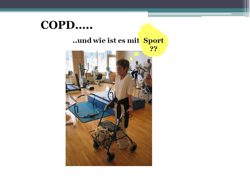 COPD….. ..und wie ist es mit Sport