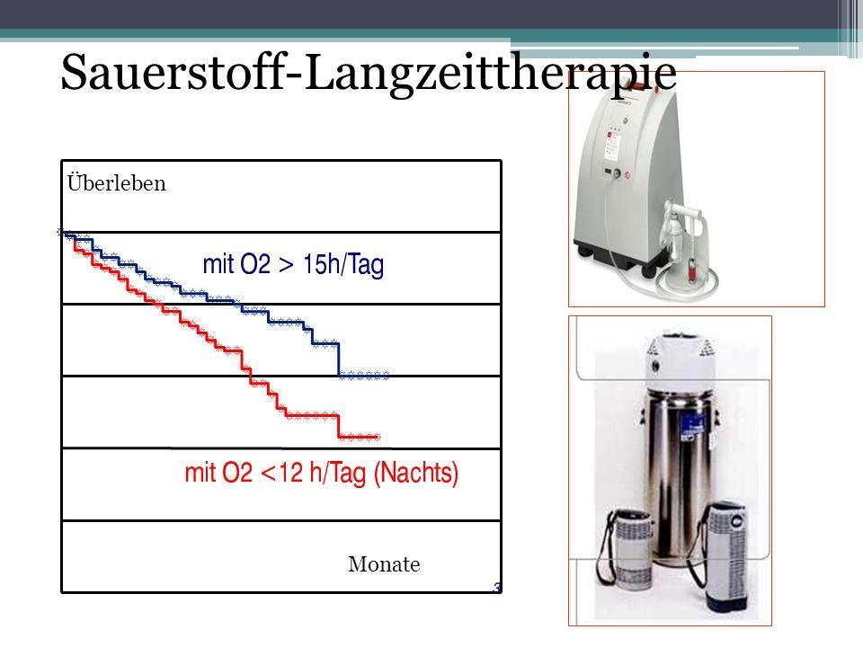 Sauerstoff-Langzeittherapie