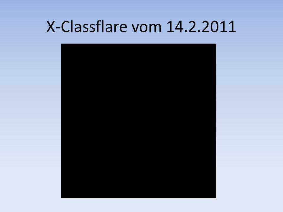 X-Classflare vom 14.2.2011