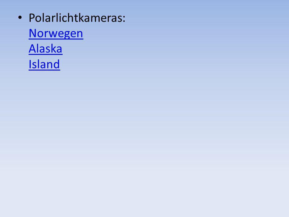 Polarlichtkameras: Norwegen Alaska Island